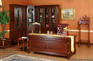 set lemari meja kantor   KM 002