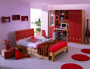tempat tidur anak minimalis km 019