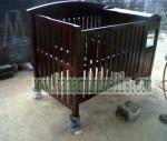 box bayi minimalis kayu jati km 128