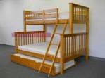 tempat tidur tingkat model minimalis km 070