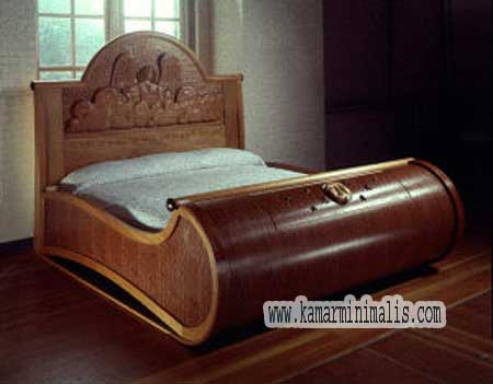 tempat tidur gajah
