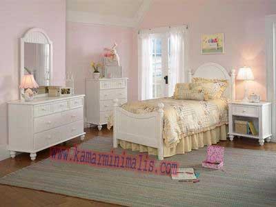 tempat tidur anak cewek dewasa km 078 kamar minimalis