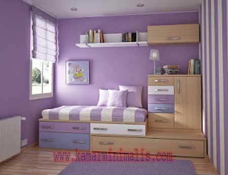 kamar tempat tidur cewek