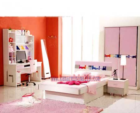 tempat tidur anak cewek minimalis