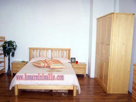 minimalis set tempat tidur