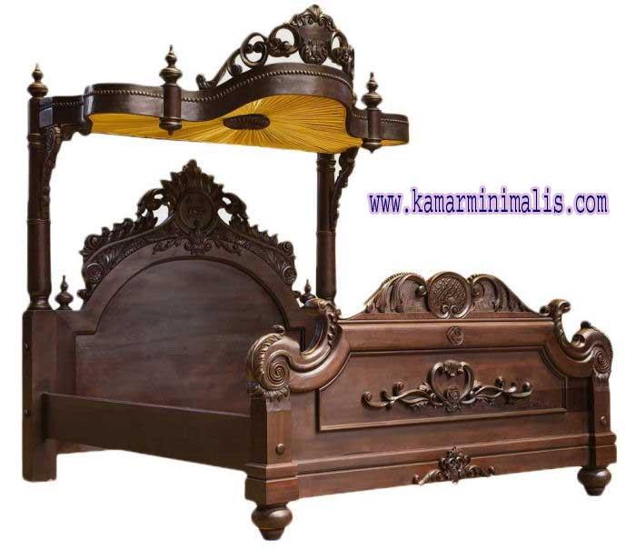 tempat tidur racoco bidadari