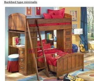 tempat tidur anak minimalis km 090