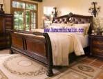 tempat tidur minimalis lengkung km 124