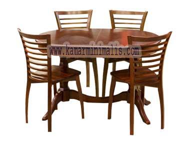 meja kursi makan keranjang