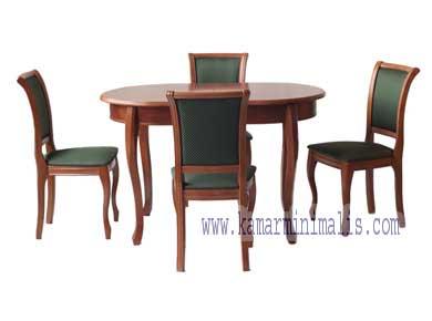 set kursi makan karina antik