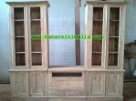 lemari televisi minimalis kayu km 151