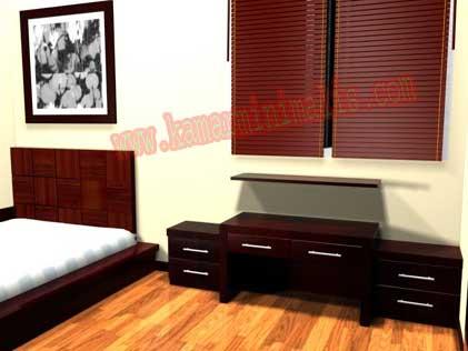 tempat tidur nakas minimalis