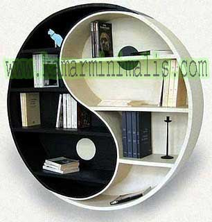 furniture rak buku