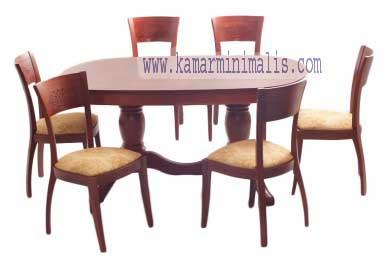 kursi makan kipas modern