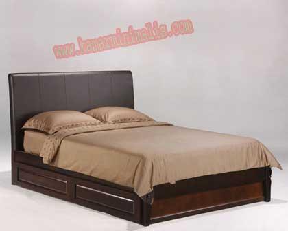 tempat tidur sorong