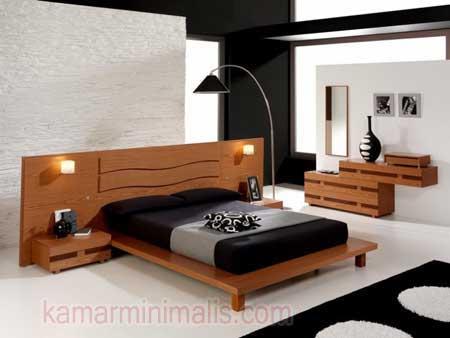 ranjang tempat tidur minimalis mewah