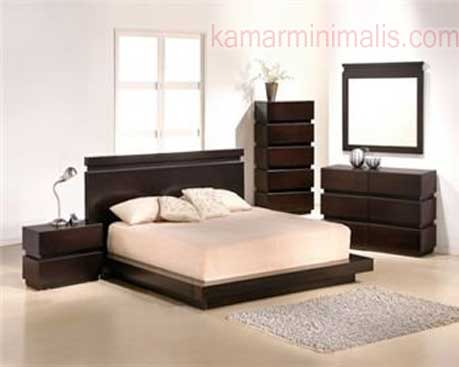 furniture kamar tempat tidur minimalis