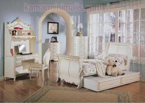 set tempat tidur anak dewasa cat duco