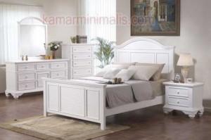 set ranjang tempat tidur anak minimalis cat duco km 203