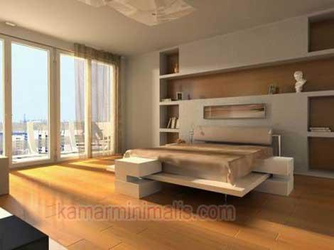 tempat tidur interior