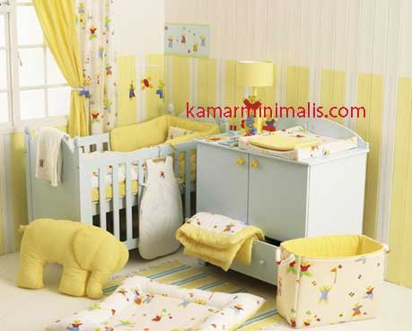 bed room box bayi duco putih