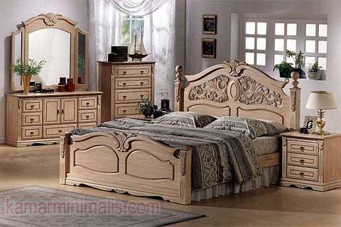 furniture kamar ukir cat duco