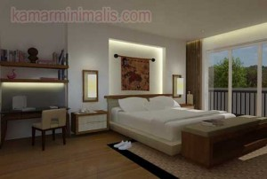 kamar tidur minimalis interior mewah km 221