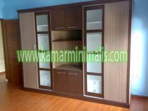 lemari tv dan pakaian interior mewah cat duco km 231