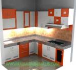 kitchen set warna warni hpl cat duco km 260