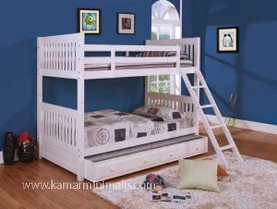 tempat tidur tingkat cat duco