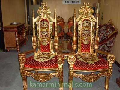 kursi raja cat duco emas