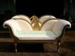 kursi sofa luis italy Gold cat duco putih km 301