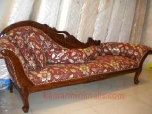 bangku sofa louis kayu jati km 305
