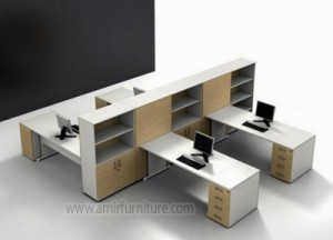 furniture sekatan meja kantor minimalis interior km 313