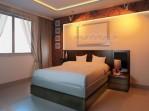 tempat tidur minimalis urat kayu jati cat duco km 331