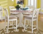 furniture meja kursi makan mewah cat duco km 323