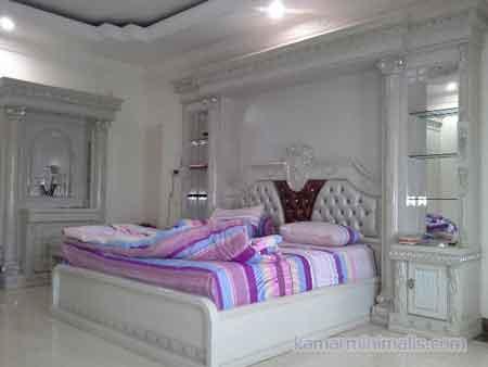 kamar tempat tidur cat duco mewah