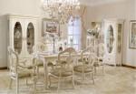 Dijual Kursi Meja Makan Ukir Cat Duco Putih